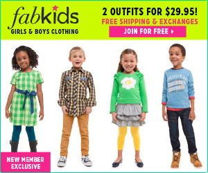 BOGO Free FabKids Outfits | Two for $29.95!