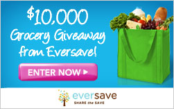 Enter to Win $10,000 in Groceries From Eversave!