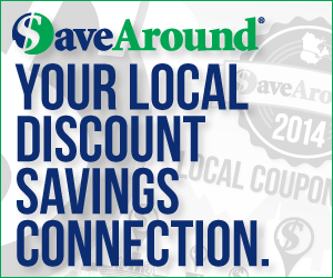 20% Off SaveAround Local Coupon Books (Two Books $32 Shipped!)