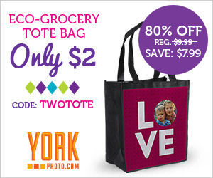 11070 22230971 Custom Eco Grocery Tote only $2!