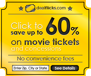 Get Discount Movie Tickets and Concessions!