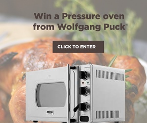 Win a pressure oven from Wolfgang Puck