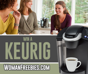 Enter for a Chance to Win a Keurig!