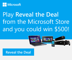 11480 300x250 How does $500 off your next Microsoft purchase sound?