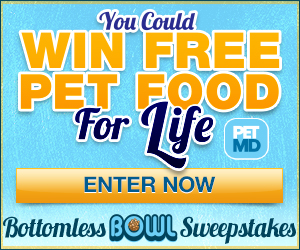 11558 CP PetMD 300x250 ad Enter to Win Free Pet Food for Life!