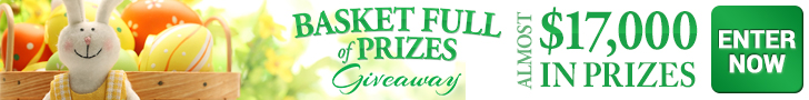 Basketful of Prizes Sweepstakes