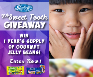 Win a Year's Supply of Jellybeans!