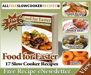 FREE Recipes for Easter