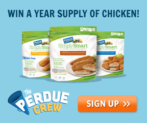Win a Year's Supply of Chicken! (Plus Earn a High Value Coupon and an Apron)