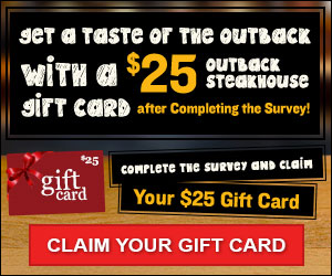FREE Steakhouse Gift Card