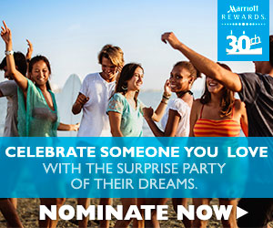 Celebrate Someone You Love With Marriott Rewards!