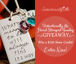 Hand Stamped Jewelry Giveaway