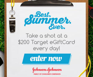 12565 300x250 JJ Best Summer Ever Image 2 Want a chance to win a $200 Target eGiftCard?