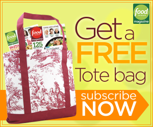 Subscribe to Food Network Magazine for $15 + Get a FREE Tote!