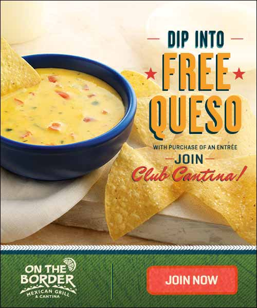 Join Club Cantina and get Free Queso