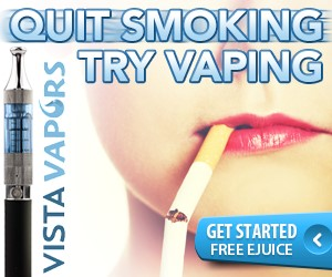 Free Sample of E-Juice from Vista Vapor (S&H)