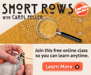 Free Knitting Class from Craftsy!