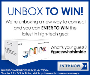 Unbox to Win New Technology Sweepstakes