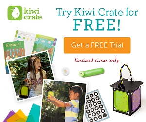FREE Kiwi Crate Sample Project + Shipping! (My Starlight Lantern Craft)