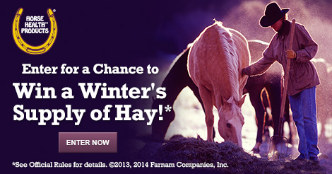 Enter the Hay Giveaway. Ends 9/30/14.