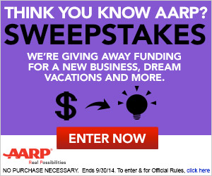 Test your knowledge for a shot at one of AARP's weekly prize packages!