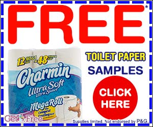 Free Charmin Ultra Soft Toilet Paper