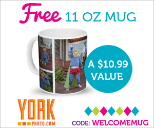 13581 25031225 Custom Photo Mug Just $5.99 Shipped!