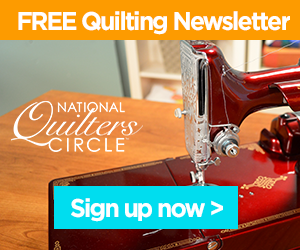 Sign Up for the FREE Inner Circle Quilting Newsletter!