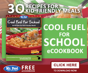Cool Fuel for School - Free Mr. Food Recipes