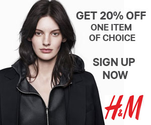 20% off at H&M Online or In-Store