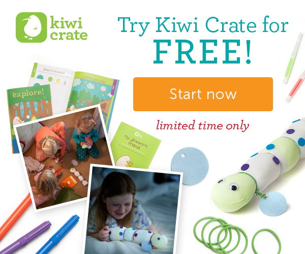 FREE Kiwi Crate Sample Project + Shipping! (My Glowworm Friend)