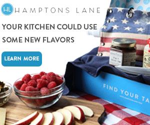 Food Lovers, Check Out Hamptons Lane for Artisan Foods & Kitchen Tools + Get Your $20 Credits!