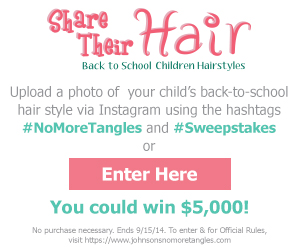 Johnson & Johnson - Share Their Hair Sweepstakes