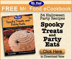 Free eBook: Spooky Treats and Party Eats: 34 Halloween Recipes from the Mr. Food Test Kitchen