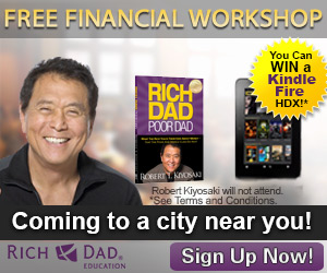 Free Rich Dad Seminars & Kindle Fire Giveaway