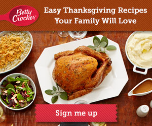Samples and Coupons from Betty Crocker