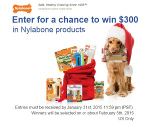 Nylabone Holiday Sweepstakes