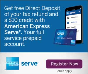 FREE Direct Deposit of your Tax Refund