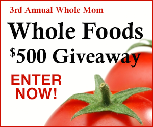 3rd Annual Whole Foods $500 Giveaway US/CAN Ends 5/17