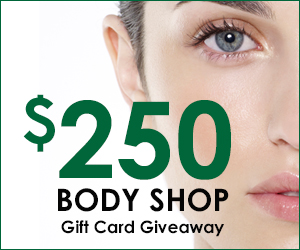Enter to Win a $250 Gift Card to The Body Shop!