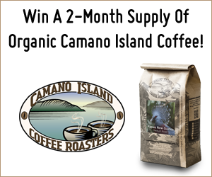 Camano Island Coffee Giveaway. Ends 8/29/15