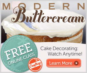 FREE Online Class: Learn how to Decorate with Buttercream Frosting!