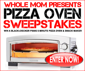 Enter the Whole Mom Pizza Oven Sweepstakes