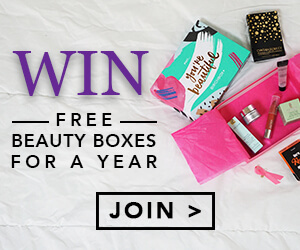 Lifescript's Win Free Beauty Boxes for a Year