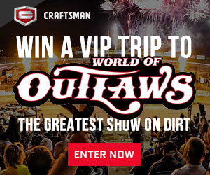 Enter the Craftsman World of Outlaws National Opens Sweepstakes