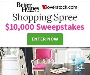 Win free 10 000 shopping spree from better homes garden for Bhg shopping