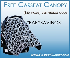 Get Your FREE Carseat Canopy with Coupon Code ($49.95 Value)