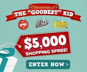 Enter the GOODEST KID Contest to Win a $5K Shopping Spree – 10 $100 Runner-Up Prizes Too