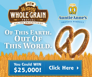Enter the Auntie Anne's Giveaway 