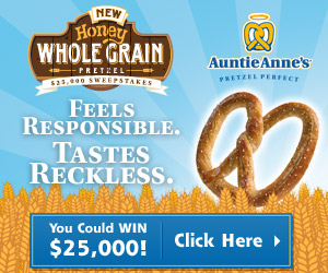 Auntie Annes Sweepstakes